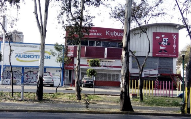Sujetos roban 17 celulares a alumnos de escuela en Coyoacán - Foto de Google Maps