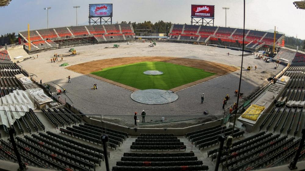López Obrador lanzará primera bola en el Estadio 'Alfredo Harp Helú' - Foto de @DiablosRojosMX