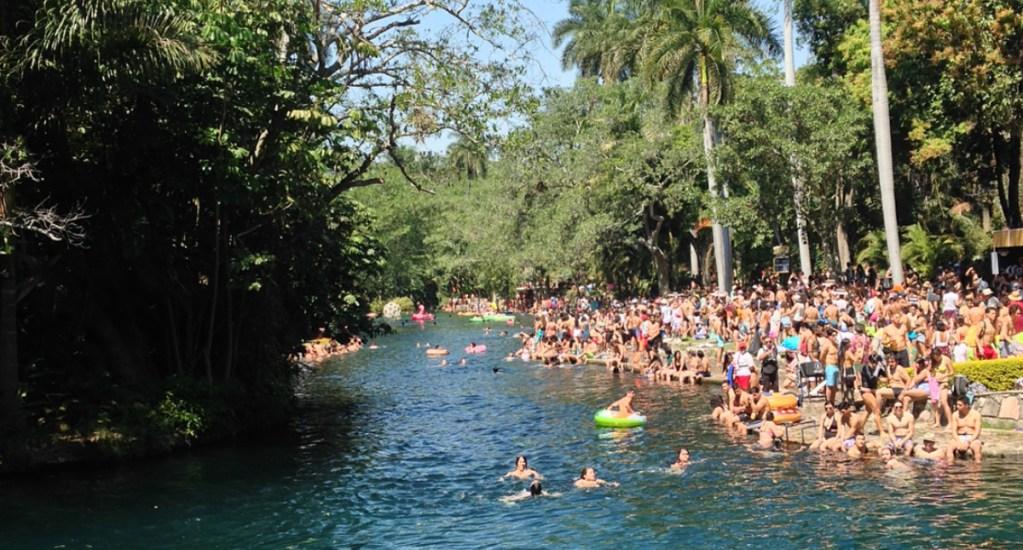 Muere ahogado asistente al festival Bahidorá de Morelos - Foto de @lauremagdelain / Instagram