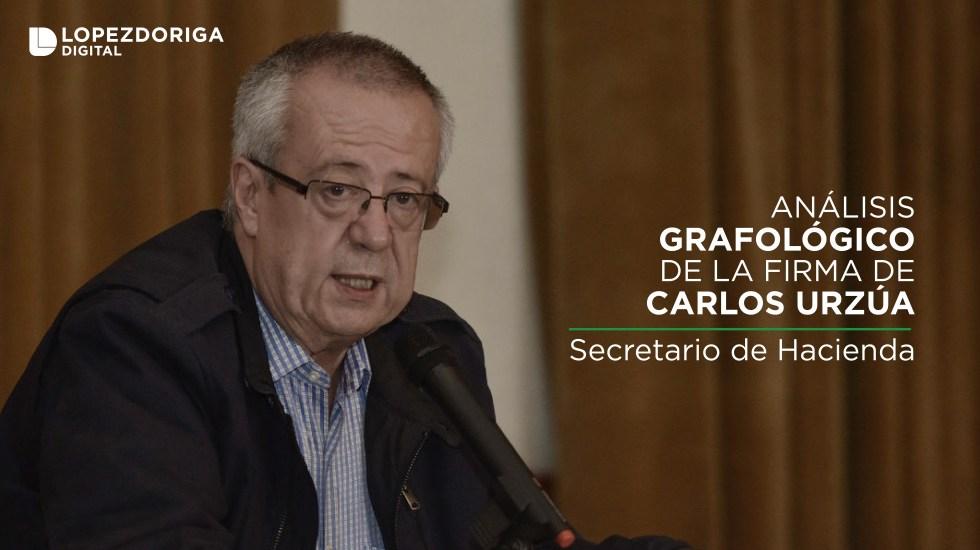 Análisis grafológico de la firma de Carlos Urzúa