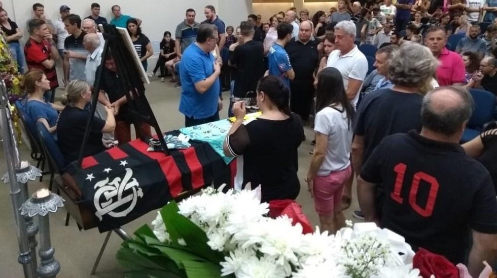 Despiden a portero del Flamengo que murió en incendio - Foto de @andreyjogador2