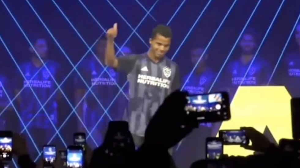 #Video Giovani dos Santos fue abucheado en evento del Galaxy - Foto de ESPN