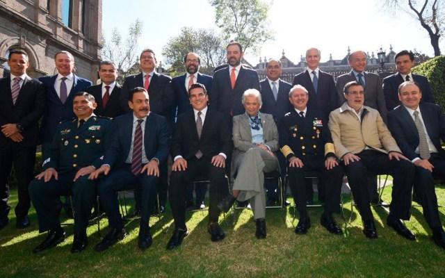 Reunión Gabinete de Seguridad y gobernadores priistas - Reunión Gabinete de Seguridad y gobernadores priistas