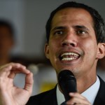 Japón reconoce a Guaidó como presidente interino de Venezuela - Juan Guaidó. Foto de AFP / Federico Parra
