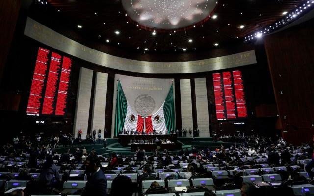 Aplazan diputados declaratoria de constitucionalidad de Guardia Nacional - Diputados votan iniciativa sobre Guardia Nacional