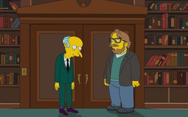 """Guillermo del Toro aparecerá en """"Los Simpson"""" - Guillermo del Toro Los Simpson"""