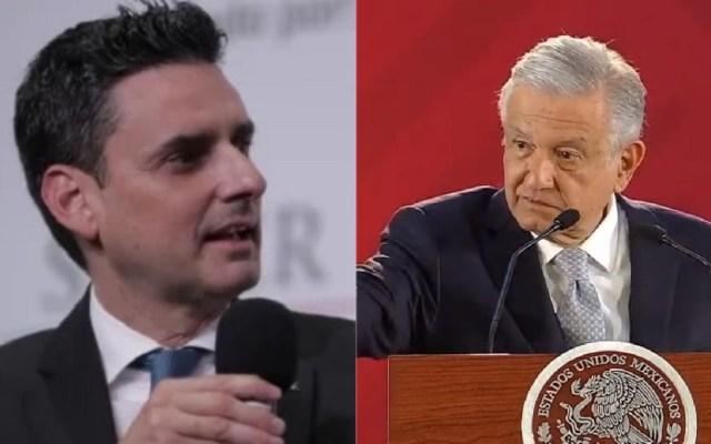 AMLO revisará su agenda para dar audiencia a titular de la CRE - Guillermo García Alcocer - AMLO. Foto de LDD
