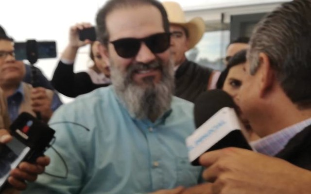 #Video Guillermo Padrés regresa a Sonora - Foto de El Sol de Durango