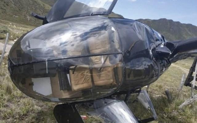 #Video Helicóptero realiza aterrizaje de emergencia en Argentina - Foto de Vía Mendoza