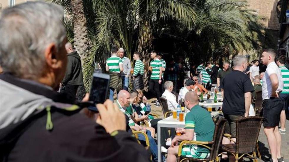 Aficionado del Celtic cae de puente en Valencia - Aficionado del Celtic cae de puente en valencia