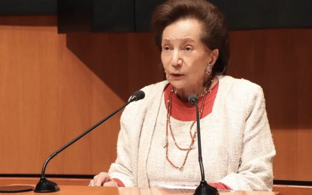 """Nombrarán """"Ifigenia Martínez"""" a Sala de Protocolo del Senado - Foto de @IfigeniaMtz"""