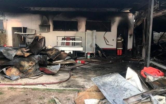 Incendio deja 10 muertos en instalaciones del Flamengo en Río de Janeiro - Foto de internet