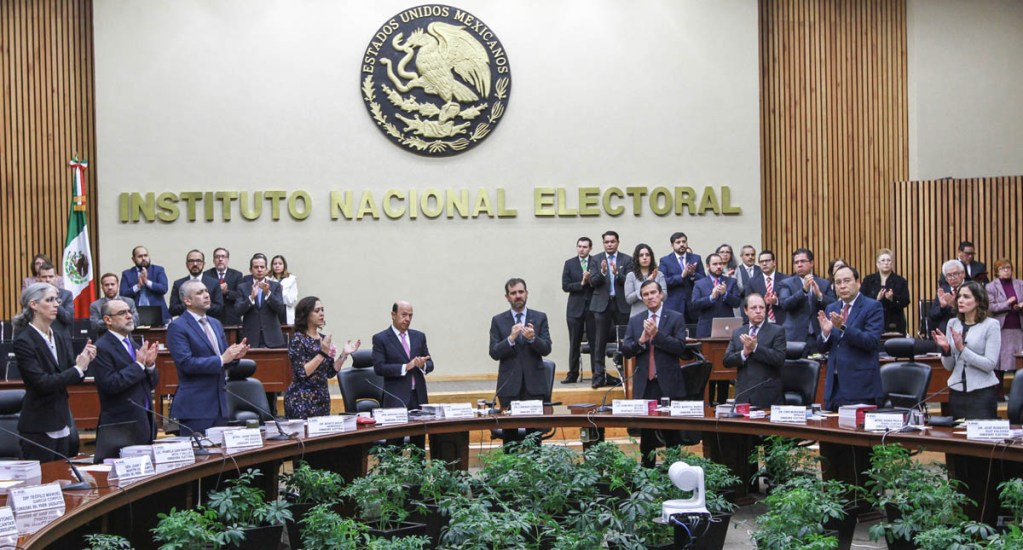 INE impugna tope salarial y presupuesto asignado para 2020 - Foto de Notimex