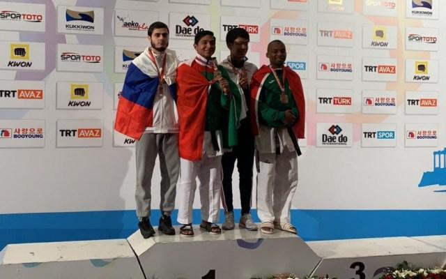 Juan Diego García gana el oro en Mundial de Para-taekwondo - Foto de Conade