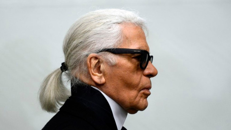 Muere el diseñador KarlLagerfeld - KarlLagerfeld. Foto de AFP