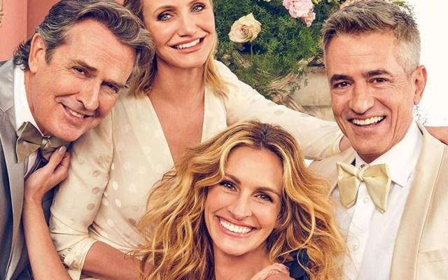 El elenco de 'La boda de mi mejor amigo' se reúne 22 años después - Foto de Entertainment Weekly