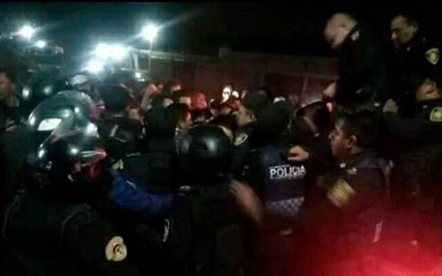 Intentan linchar a presunto violador en Xochimilco - Foto de @MrElDiablo8