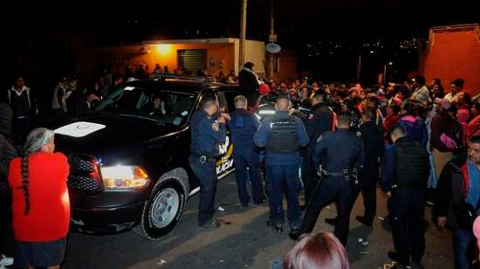 Muere hombre agredido por habitantes en Xochimilco - Foto de @impactomx