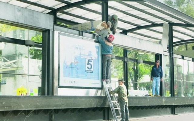 Sheinbaum promete ampliación de Línea 5 del Metrobús para este año - Estación de la L5 del Metrobús. Foto de El Gráfico