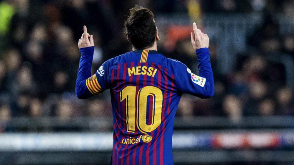 Messi descarta salir del Barcelona - Foto de @FCBarcelona