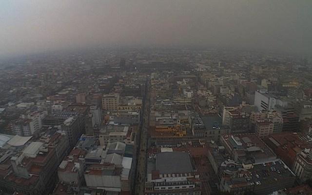 Llueve en gran parte de la Ciudad de México - Foto de @webcamsdemexico