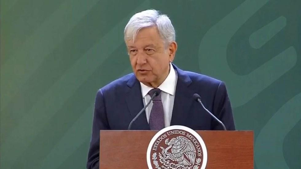 López Obrador celebra que robo de combustible sea delito grave - López Obrador conferencia. Captura de pantalla