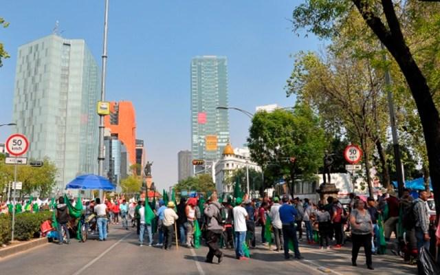 Al menos cuatro movilizaciones este jueves en la Ciudad de México - Foto de Notimex