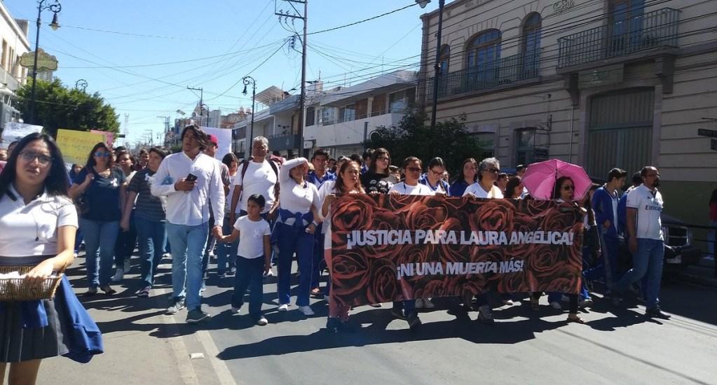 Marchan para exigir justicia en feminicidio de alumna embarazada. Noticias en tiempo real