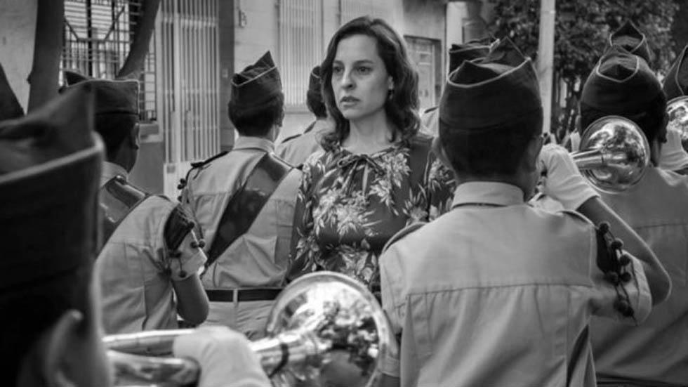 Marina de Tavira como Sofía en Roma. Foto de Netflix