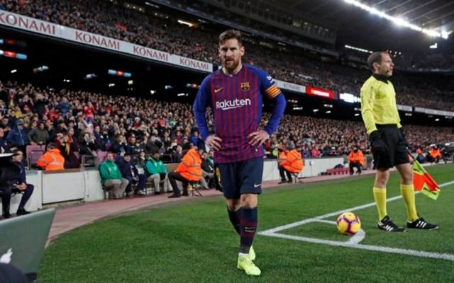 Barcelona entrena sin Messi a dos días de recibir al Real Madrid - Foto de @FCBarcelona