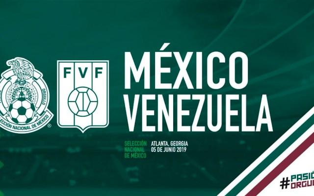 El Tri jugará contra Venezuela en junio - Foto de @miseleccionmx