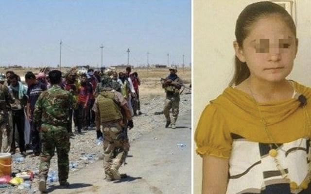 Integrantes de ISIS raptan y embarazan a niña de 10 años - Foto de ABC