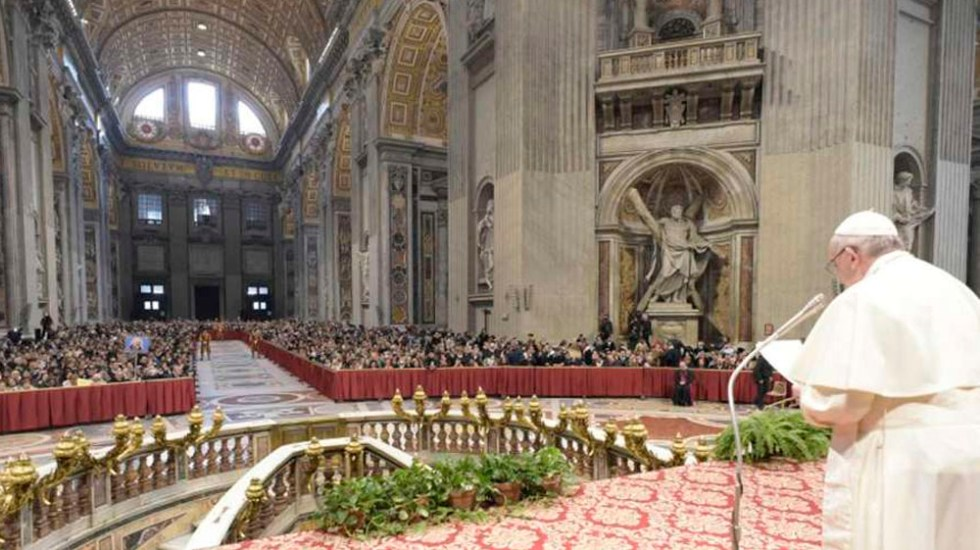 Quien ama a la Iglesia sabe perdonar: papa Francisco - Foto de Vatican Media