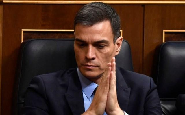 Parlamento español rechaza primer presupuesto de Pedro Sánchez - Foto de AFP