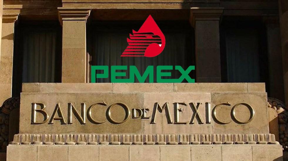Apoyo financiero a Pemex podría mitigar riesgos en la economía: Banxico