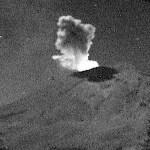 Popocatépetl registra caída de ceniza y fragmentos incandescentes - Foto de Cenapred