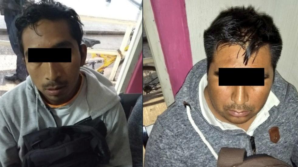 Capturan a dos sujetos por intentar secuestrar a joven en el Metro - Foto de @alertasurbanas