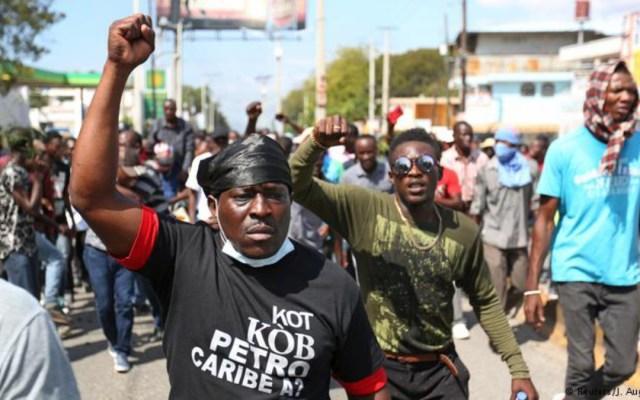 Protestas en Haití dejan al menos cuatro muertos - protestas en Haití dejan al menos 4 muertos