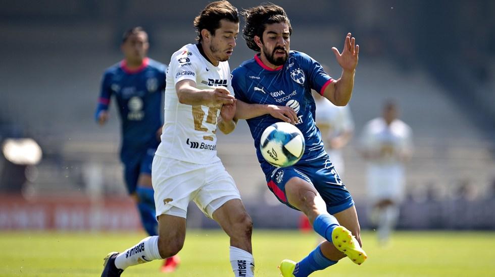 Pumas rescata empate ante Monterrey en debut de Marioni - Pumas Monterrey