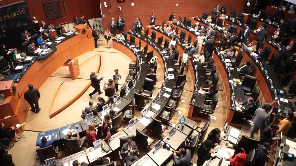 Senado declara constitucionalidad de Guardia Nacional; pasa al Ejecutivo - Sesión del Senado de la República. Foto de @CanalCongreso