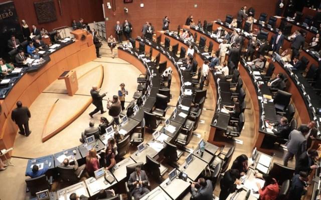 Senado aprueba Ley de Remuneraciones - Sesión del Senado de la República. Foto de @CanalCongreso