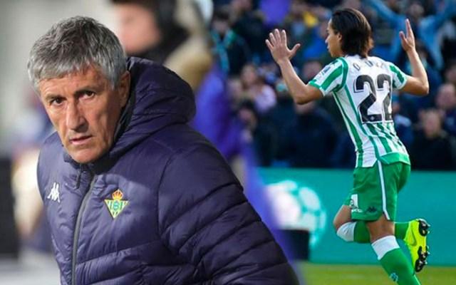 """Diego Lainez tiene que """"ganarse el puesto"""": director técnico del Betis - Foto de Fox News"""