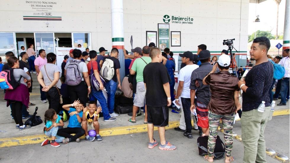 Más de 12 mil migrantes recibieron tarjetas de visitante en Chiapas - INM