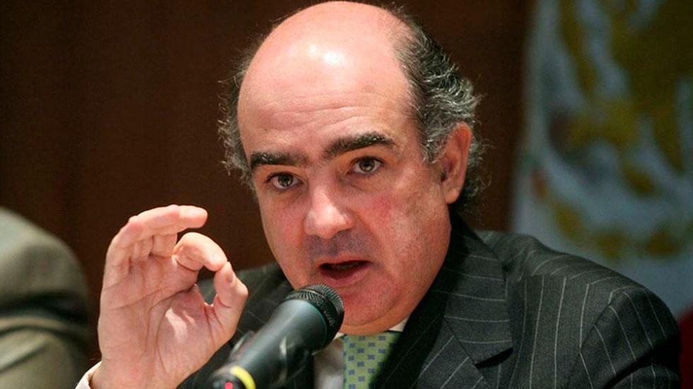 Luis Téllez rechaza acusaciones de Bartlett - Foto Especial