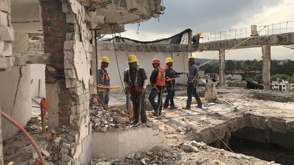 AMLO prevé que reconstrucción concluya a finales de 2020. Noticias en tiempo real