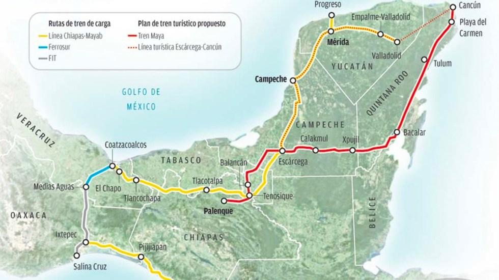 Politécnico Nacional participará en el proyecto del Tren Maya