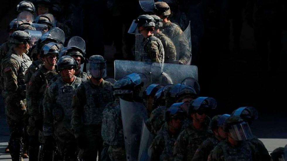 California retirará tropas de frontera con México - Foto de Reuters