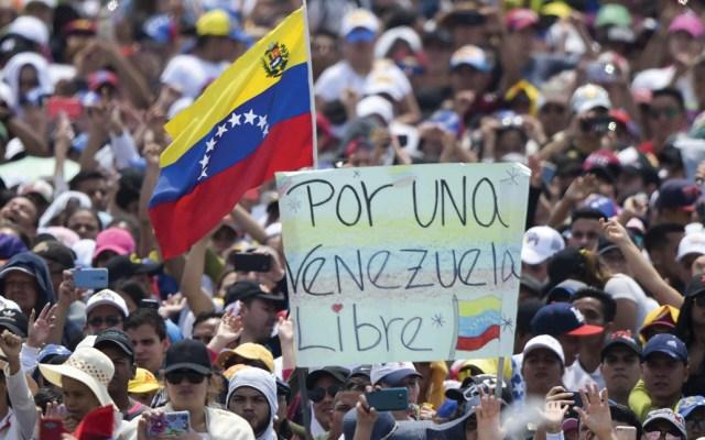 EE.UU. anunciará acciones para enfrentar crisis en Venezuela - Foto de AFP