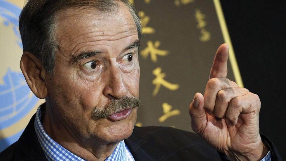 Pemex es un barril sin fondo: Vicente Fox - vicente fox