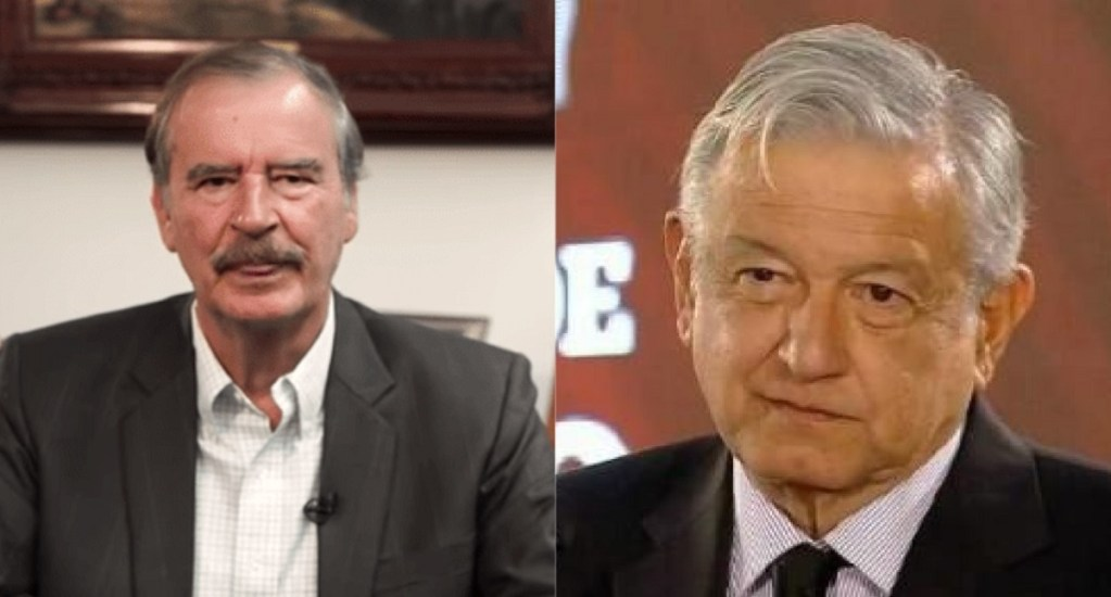 López Obrador rechaza responder a descalificaciones de Vicente Fox - Vicente Fox y AMLO periodistas